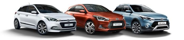 Hyundai i20 i20 5 portes i20 coupé i20 active