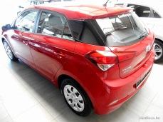 Hyundai i20 rouge