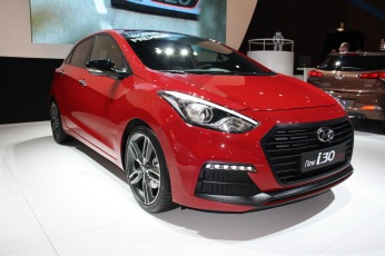 Hyundai i30 Turbo rouge