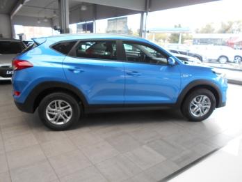 Hyundai Tucson bleu