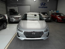 Hyundai i30 platinum silver