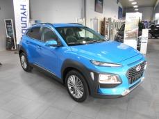 Hyundai kona blue lagoon