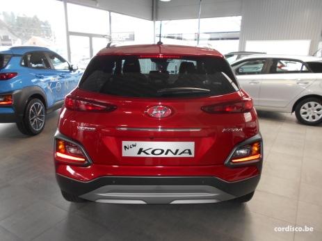 Hyundai kona Pulse Red